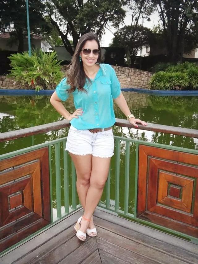 Look Camisa Azul