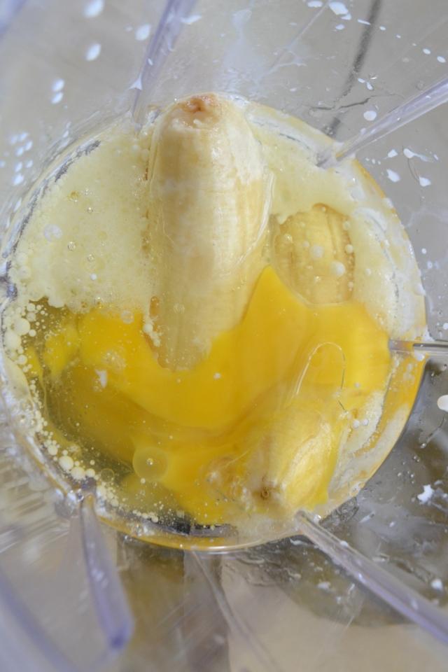 Bolo de Banana Integral