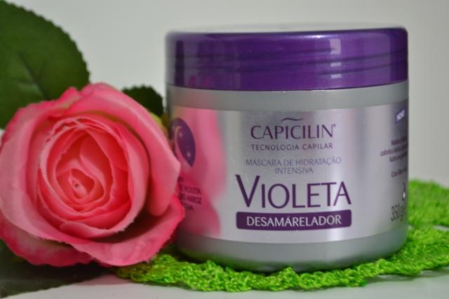 Máscara Violeta desamarelador Capicilin